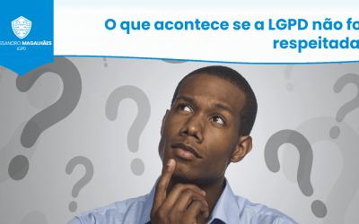 O que acontece se a LGPD não for respeitada?